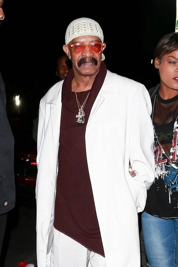 Drake Dresses Up As His Own Father, Dennis Graham For Halloween