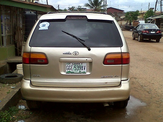 Used Toyota Sienna For Sale >> A 1999 2000 Model Nigerian Used Toyota Sienna For Sale