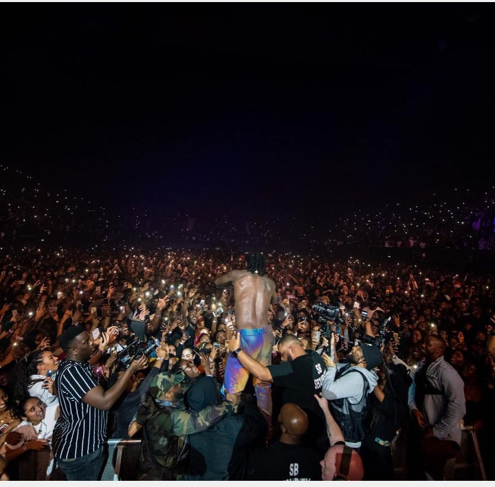 Burna boy Set New Record Becomes First African Artiste To Shutdown Wembly
