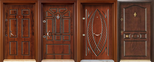 Steel Security Doors Turkey Doors Wooden Door Kitchen