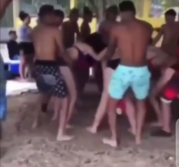 """Dotun Reacts To Crazy Party Dance """"If This Is How Hellfire Will Be Will You Go?"""