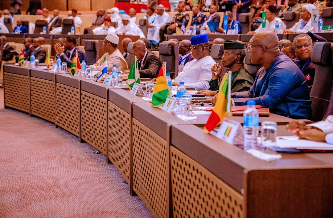 VP Osinbajo Attended An Extraordinary Summit Of Heads Of State