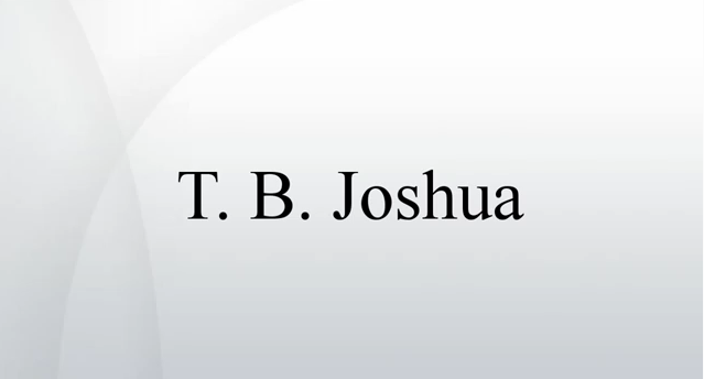 International Journal Uncovers Tb Joshua – Video On Youtube
