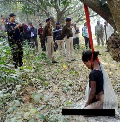 Indian Woman Hanged From A Tree After Being Sexually