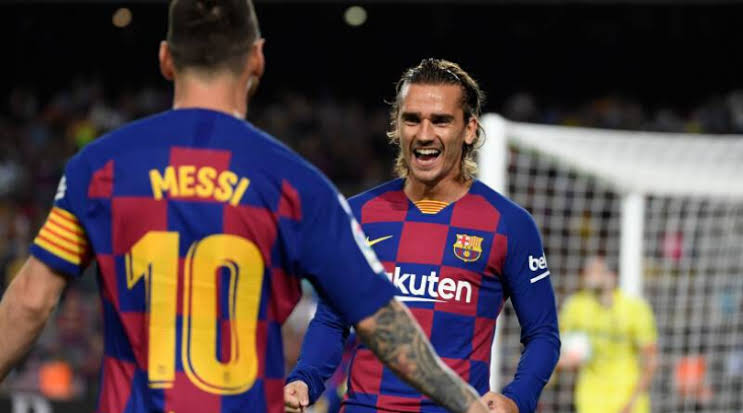 Messi & Griezmann 'Don't See Eye-To-Eye As They Do Not Speak In Training' - Sports -