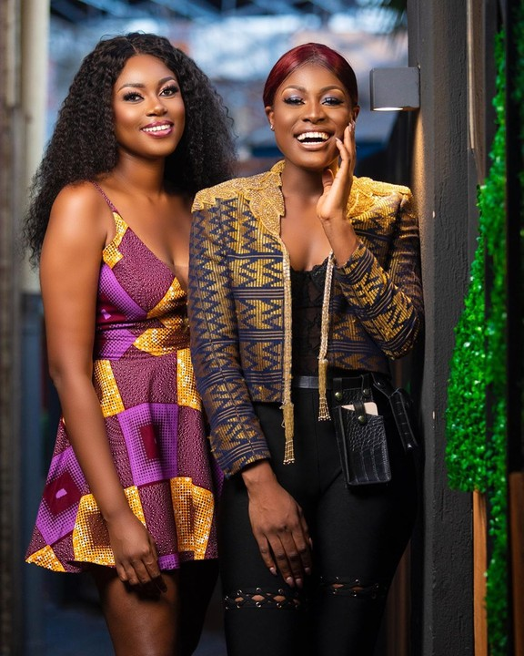Alex Unusual And Yvonne Nelson Pictured Together In Ghana