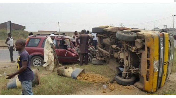 Image result for 13 die, 14 injured in Ogun road accident""