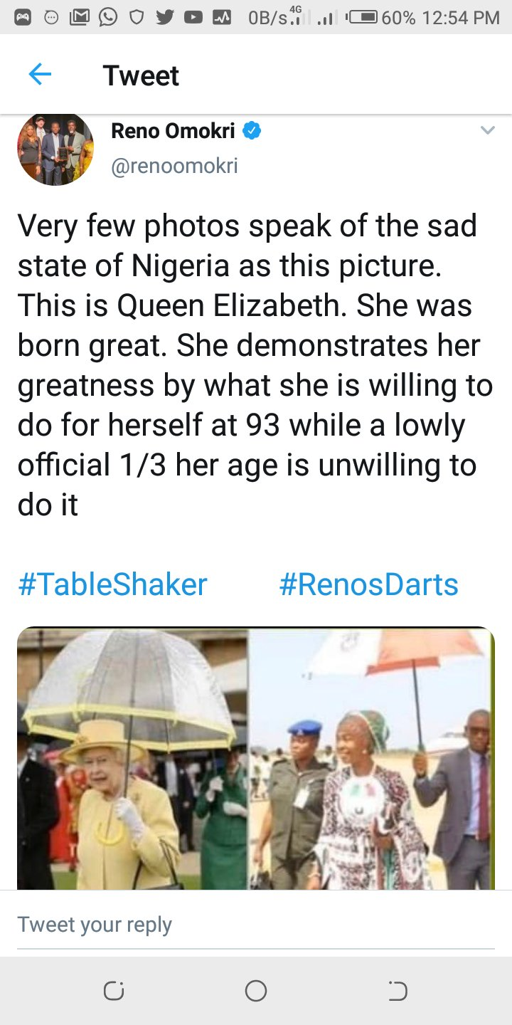 Breaking: Reno Omokri's Hypocrisy Revealed