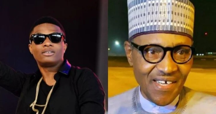 😂😂 Look at what Wizkid said about President Buhari incessant Foreign trips