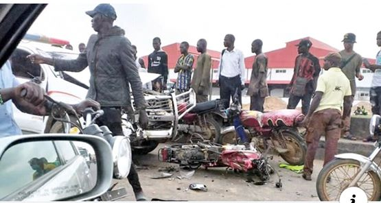 Policemen Driving Against Traffic Crushes 2 To Death On Lagos-Ibadan Expressway