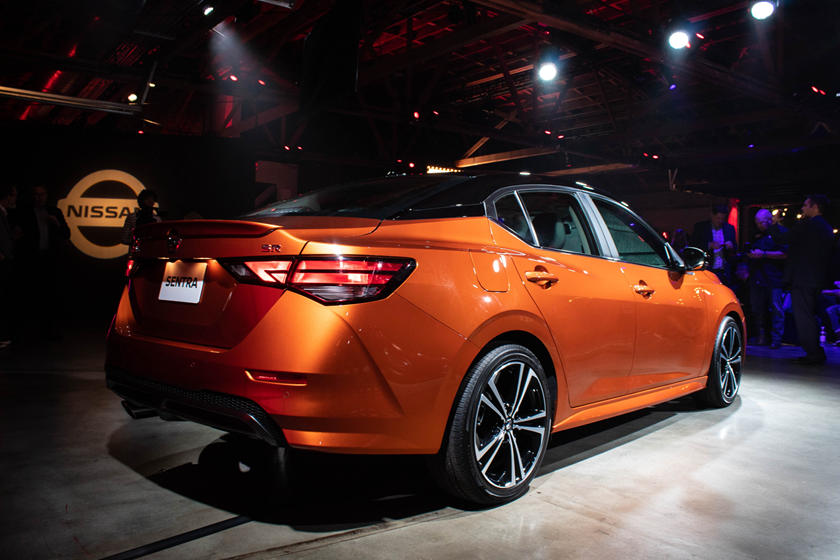 2020 nissan sentra debuts with better tech and stunning look - car talk