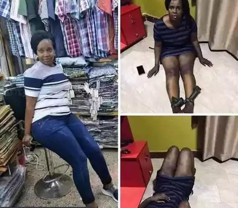 Man Catches Wife Sleeping With A Man In The Boutique He Opened For Her (photos)