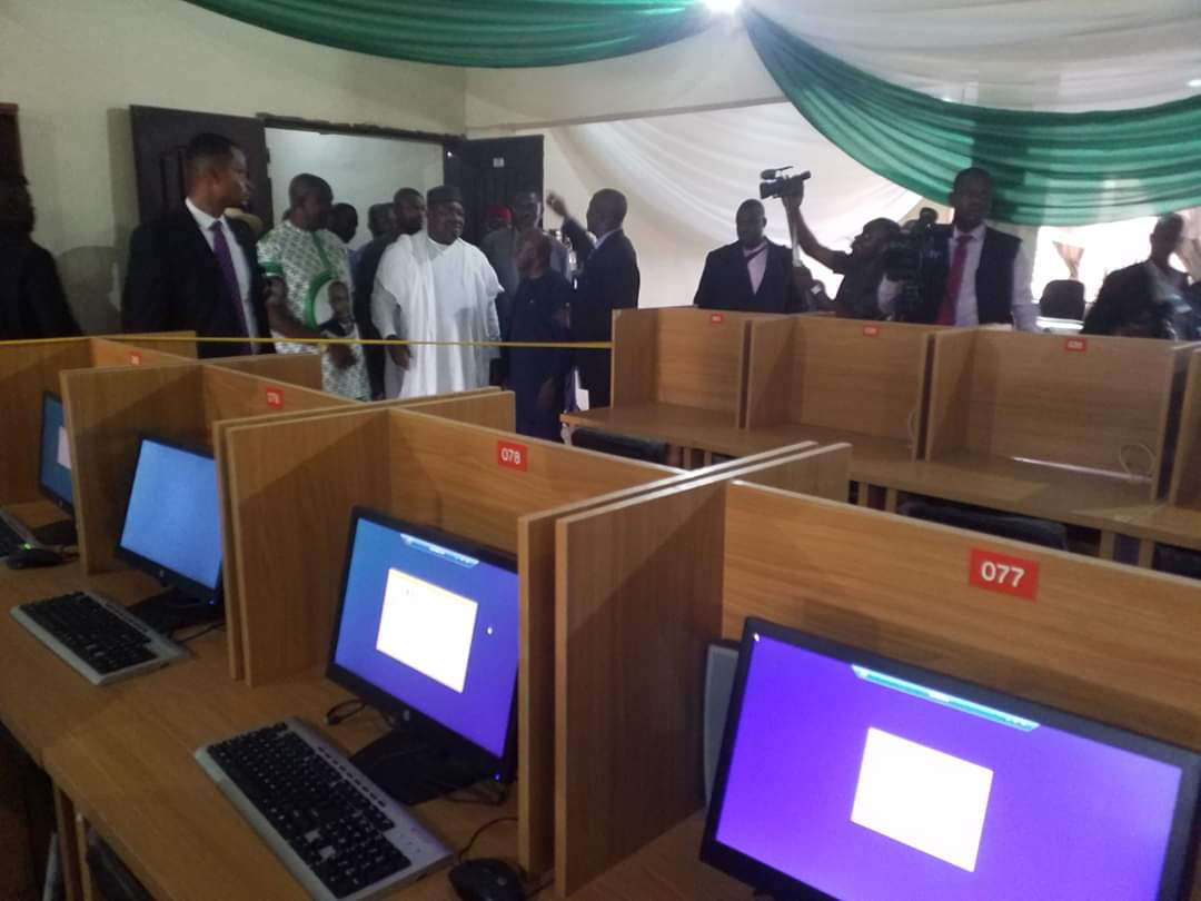 Governor Ugwuanyi Inaugurates 200-seater E-library Donated To UNN By Reps Member