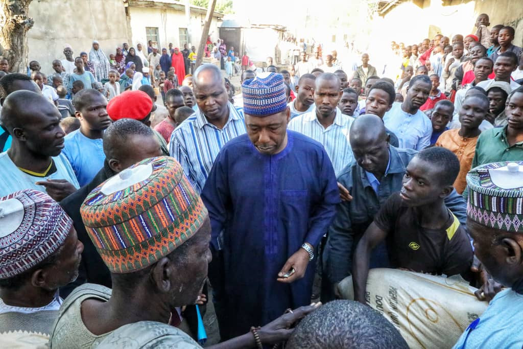 Governor Zulum Supports Widows, Aged And Vulnerables