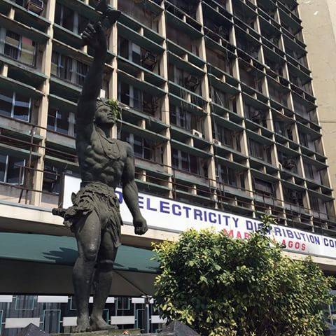 The Black Nepa Sango Statue @ Marina Lagos Is Wearing A New Look! -  Politics - Nigeria