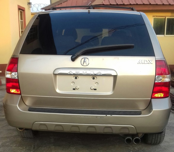 Tokunbo Acura Mdx 2001 Model For Sale