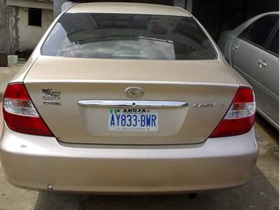 itachi 39 s 2004 toyota camry for sale nigeria used autos nigeria. Black Bedroom Furniture Sets. Home Design Ideas