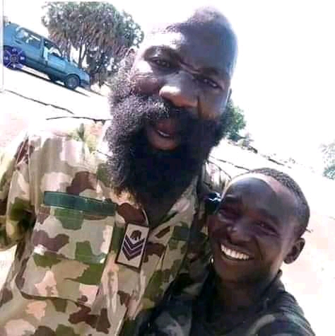 Meet 'Over Stay' The Soldier That Has Been Fighting Boko Haram For 6 Years