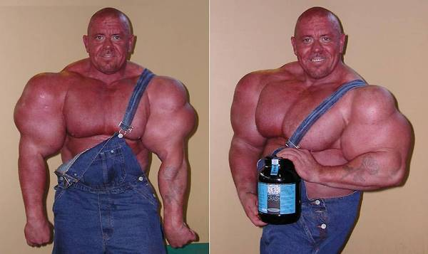 Steroids gone wrong
