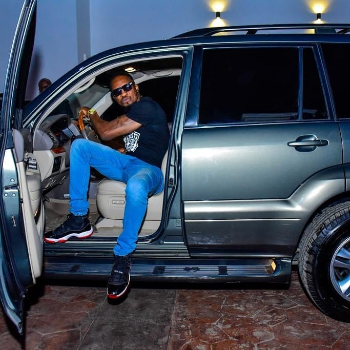 Aww: Kcee And E-money Gift Junior Pope A Lexus SUV (photos) 2
