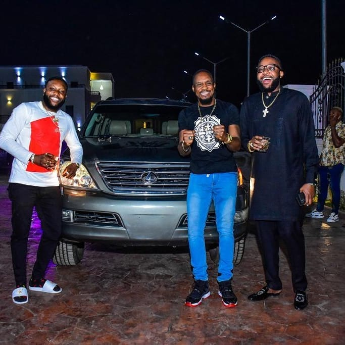 Aww: Kcee And E-money Gift Junior Pope A Lexus SUV (photos) 3