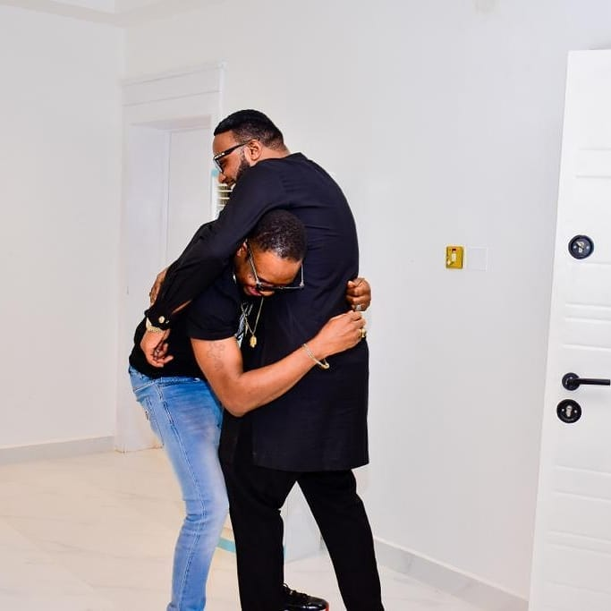 Aww: Kcee And E-money Gift Junior Pope A Lexus SUV (photos) 5