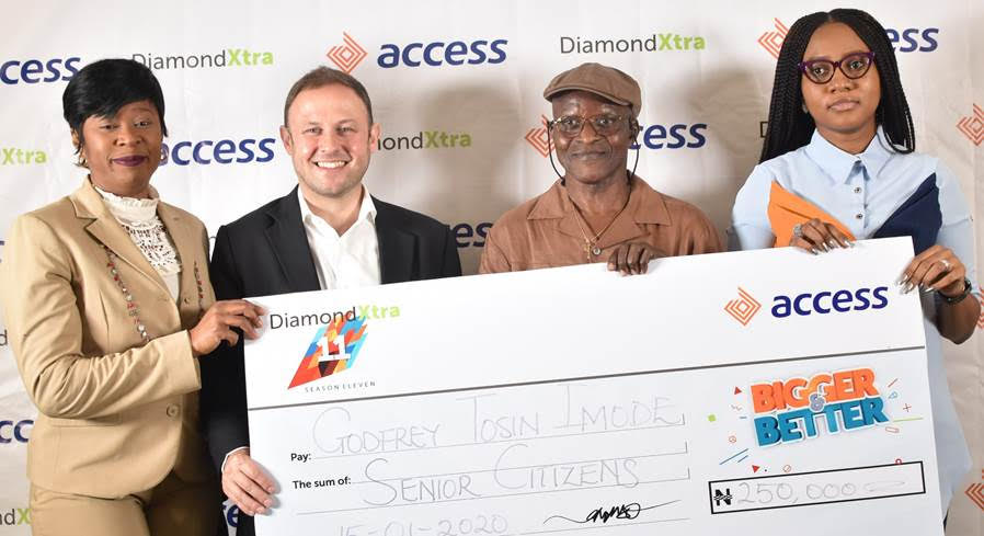 Access Bank Rewards Okpala Mark With Education Allowance For 5 Years