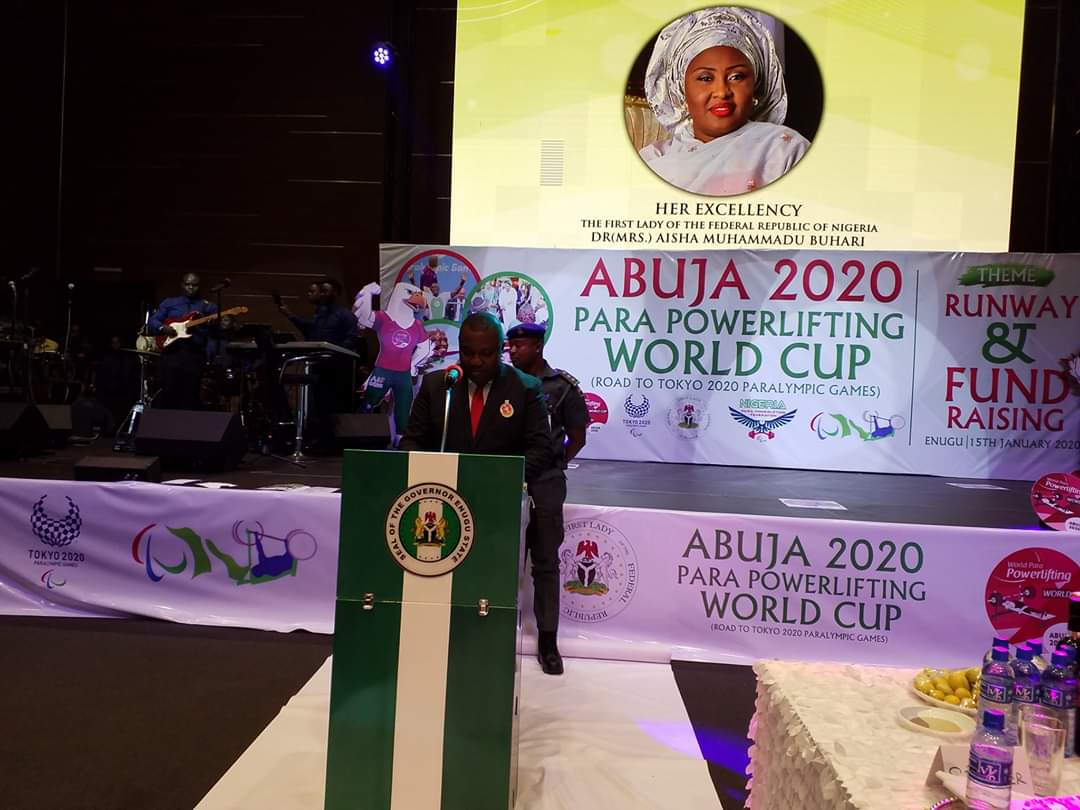 Enugu host fund raising dinner for Abuja 2020 Para Powerlifting World Cup