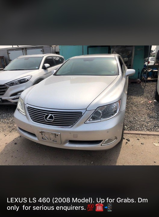 Ls 460 For Sale >> Lexus LS 460 (2008 Model) For Sale - Autos - Nigeria