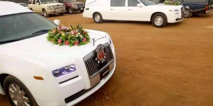 Nnamdi Kanu Parents Burial: Rolls Royce Convey Remains Of Eze Israel, Lolo Sally