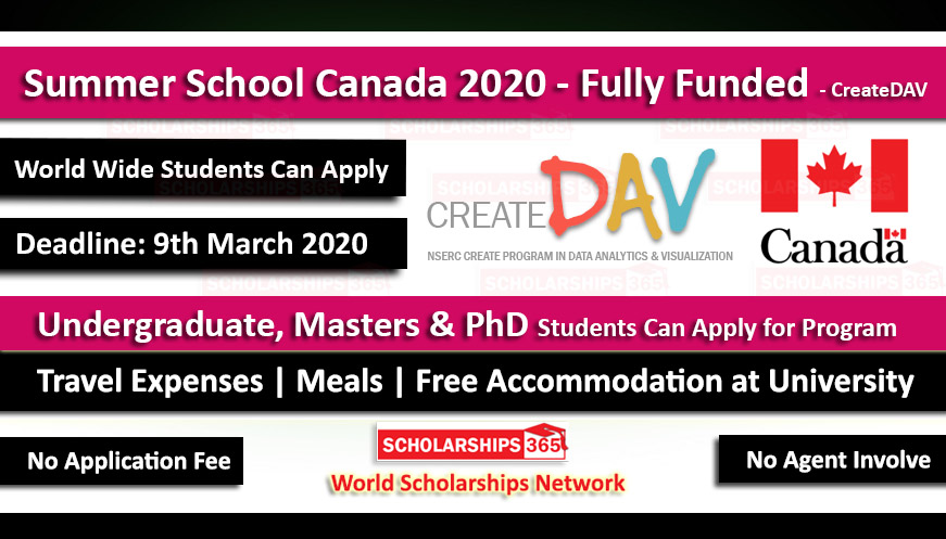 Scholarships Updates 2020-2021 For International Students ...
