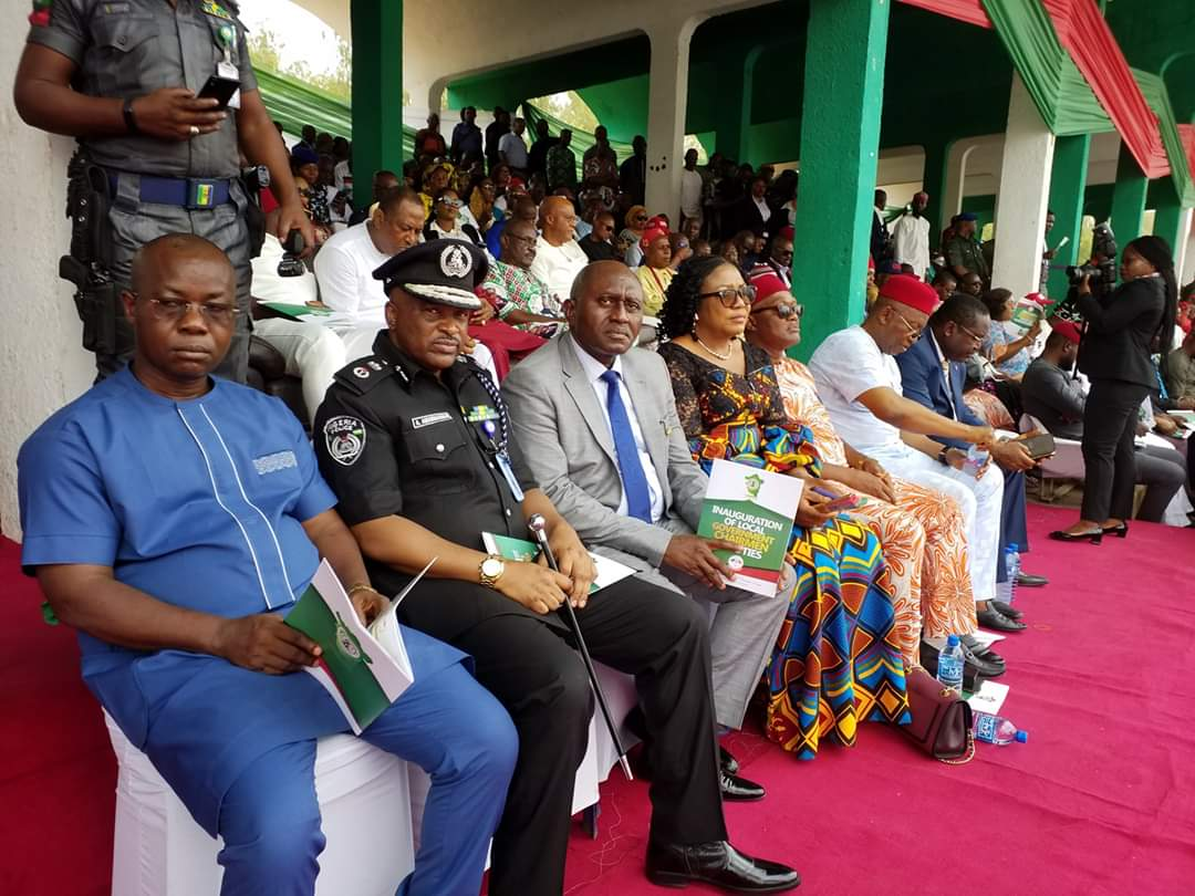 Ugwuanyi Inaugurates Newly-Elected Council Chairmen