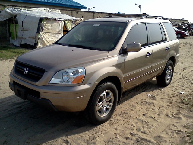 2013 Honda Pilot Ex L For Sale >> 2003 Honda Pilot EX-L:DVD, Leather, V6, Clean-n2.1m ...