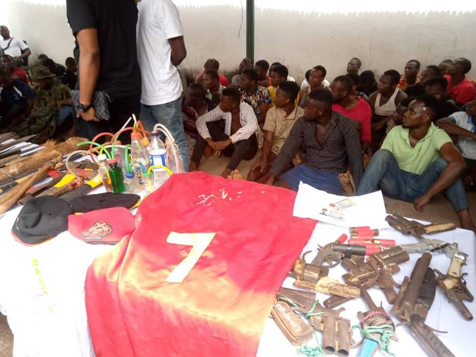 Anambra Police Command Parades 122 Persons