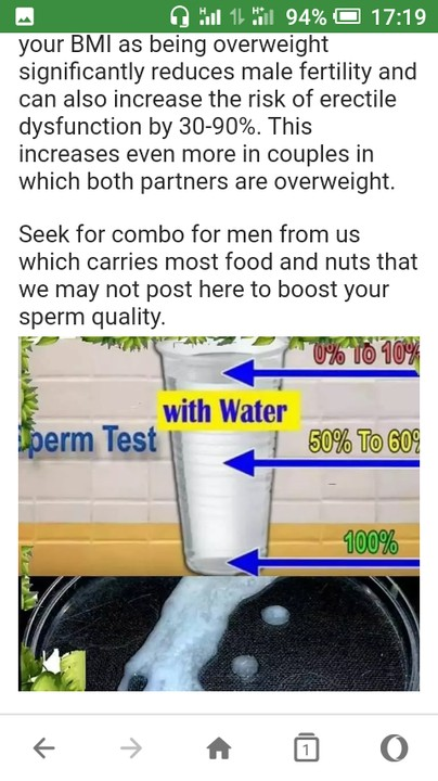 water good sperm Cold for product your