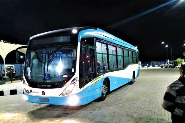 Coronavirus: Lagos Bus Service Limited To Enforce No Standing Rule In Buses