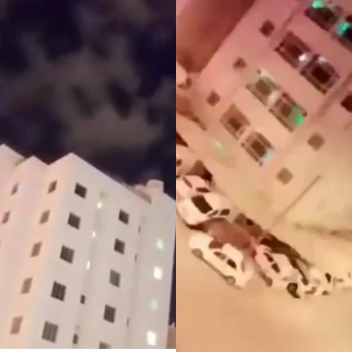 Watch Video Of Sky Coming Down In Kuwait Is The End Finally Here