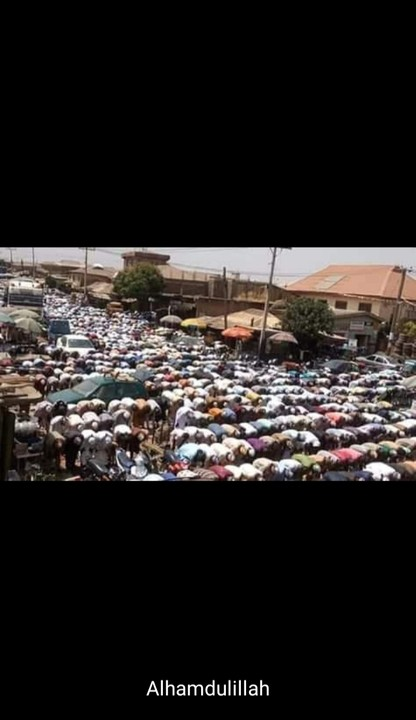 Worshippers In Jos