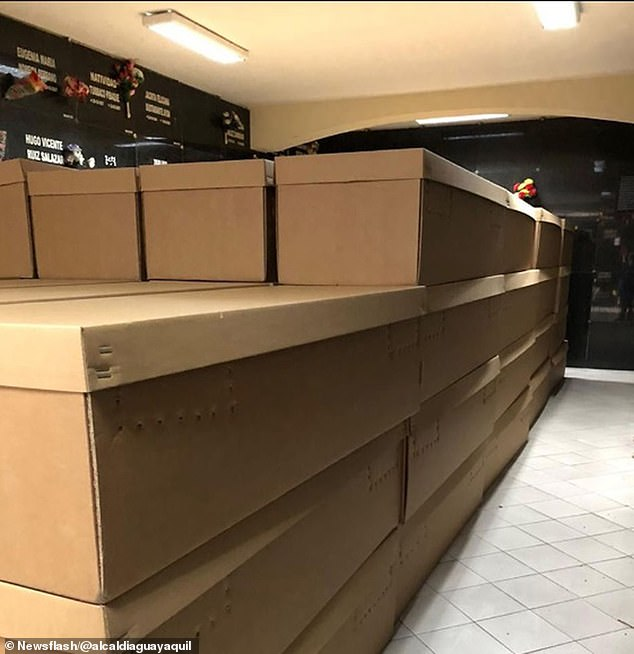 COVID-19: Cardboard Coffins, Over 100 Bodies Litter The ...