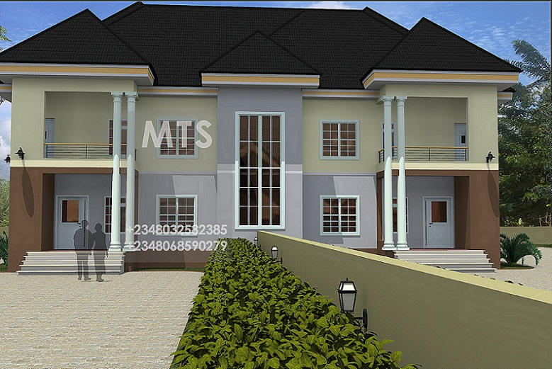 House design plans in nigeria 2017 2018 best cars reviews for Twin home plans