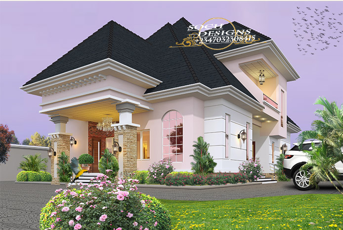 Beautiful Nigerian Building Designs Properties Nigeria