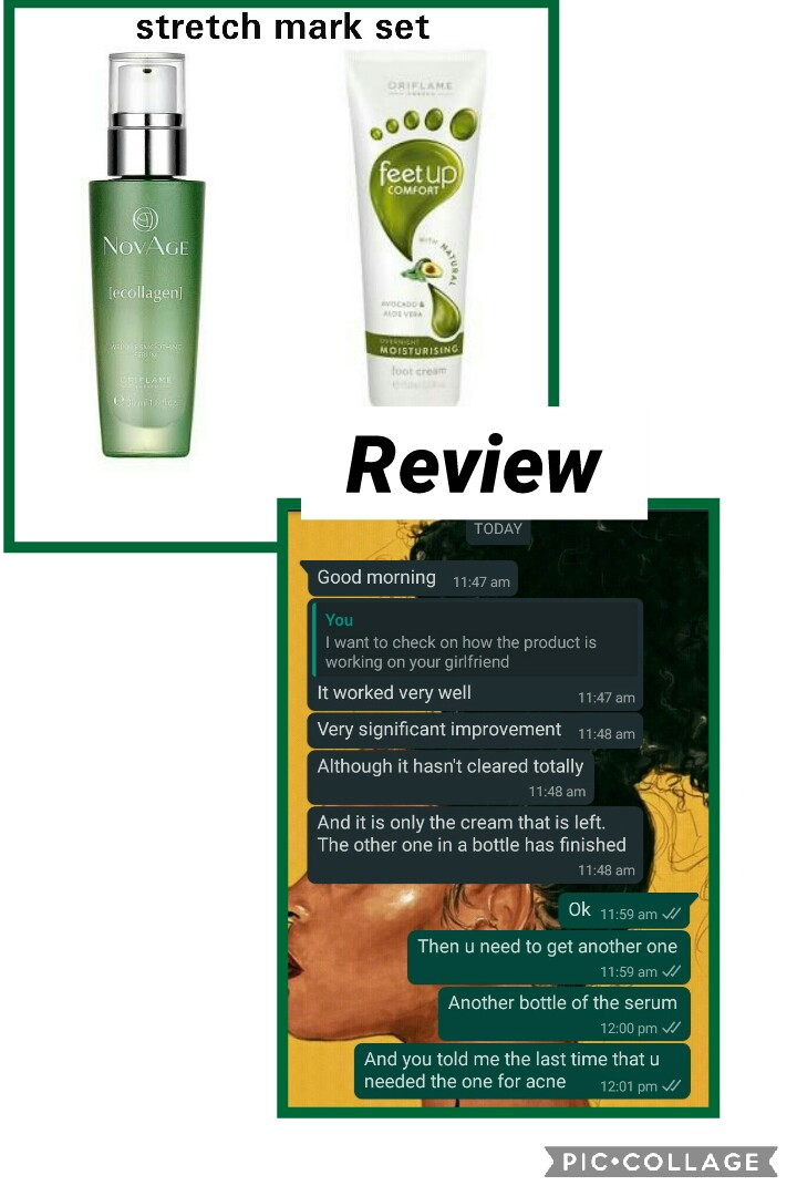 Use Oriflame Footscrub And Ecollagen Cream To Get Rid Of That