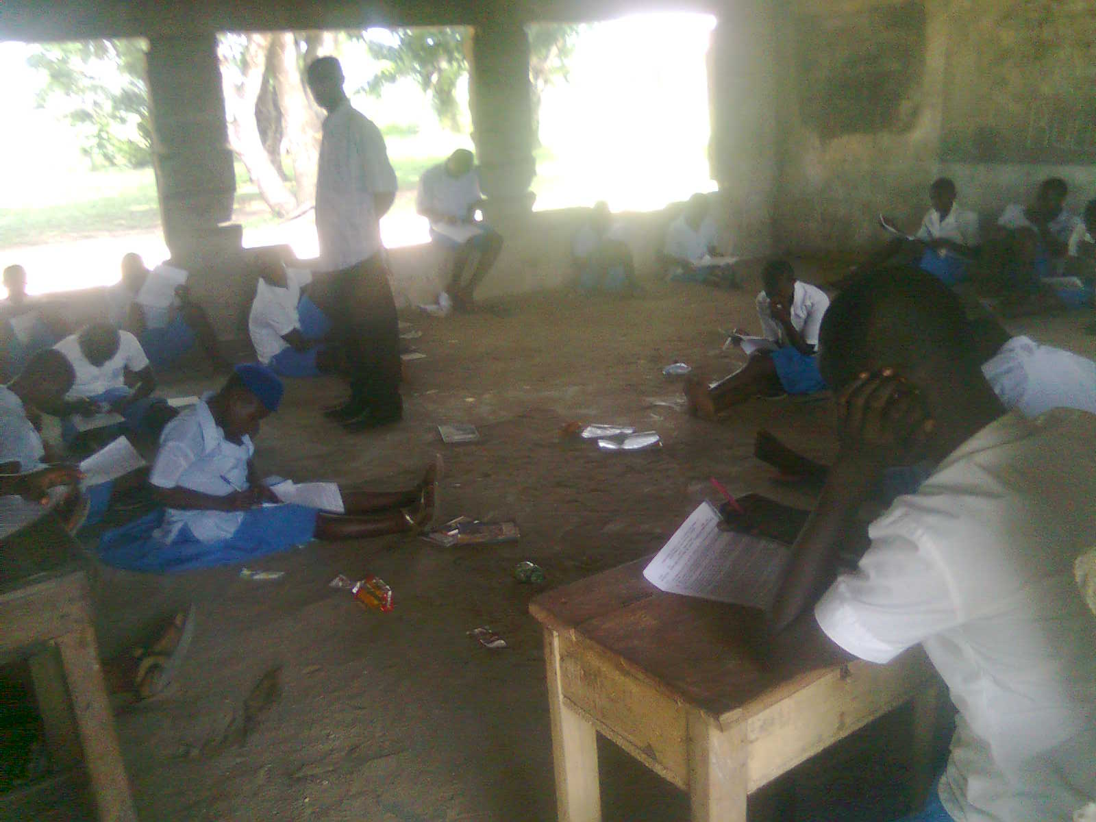 Lagos Schools Where Students Sit On The Floor Amp Under