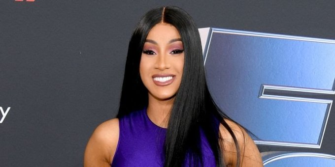 Cardi B Debuts Colorful New Butterfly Back Tattoo: Cardi B Debuts Colorful New Butterfly Back Tattoo (photo