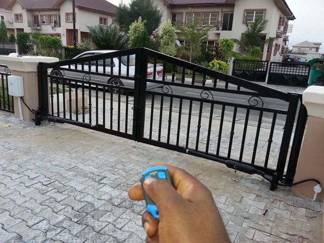 Open Your Gate With Remote Control Properties Nigeria