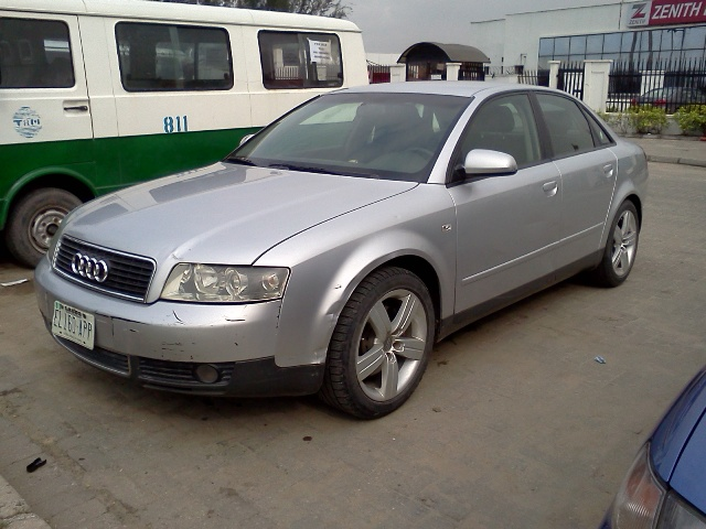 regd 2003 audi a4 3 0 v6 fast sharp clean n890k autos nigeria. Black Bedroom Furniture Sets. Home Design Ideas