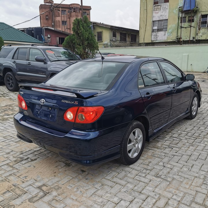 Tin-can Cleared 2008 Toyota Corolla S