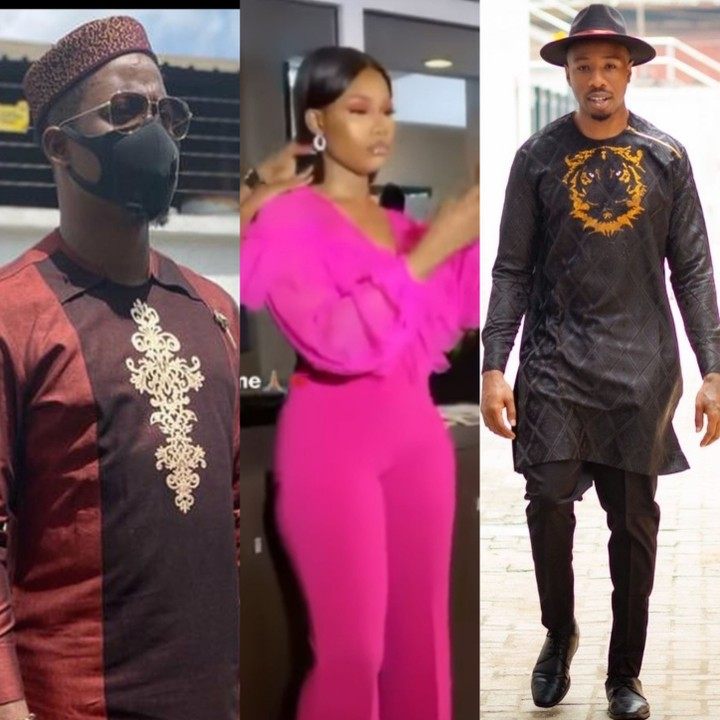Seyi,IKe and Tacha Draw battle Line as the BBnaiaja house couldn't settle their Issues