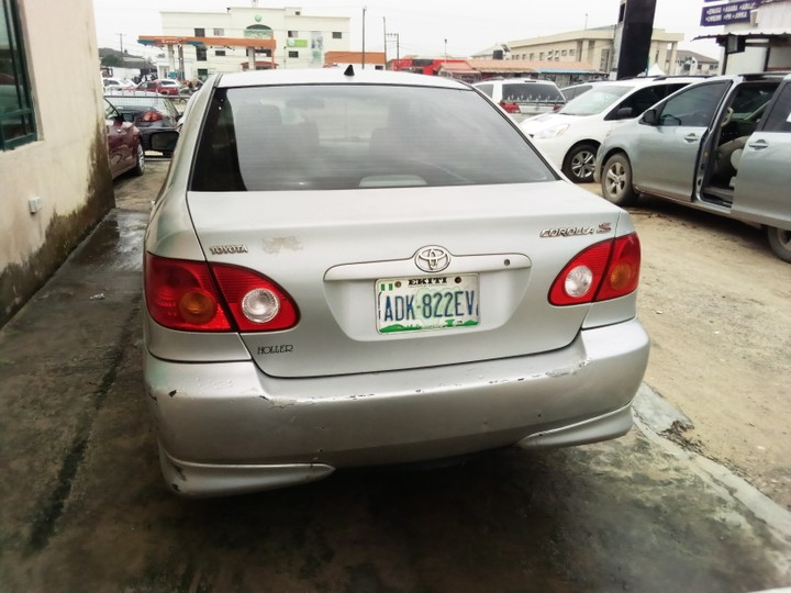 sold sold sold registered toyota corolla sport 2003 model