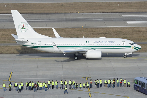 Image result for nigerian presidential jet